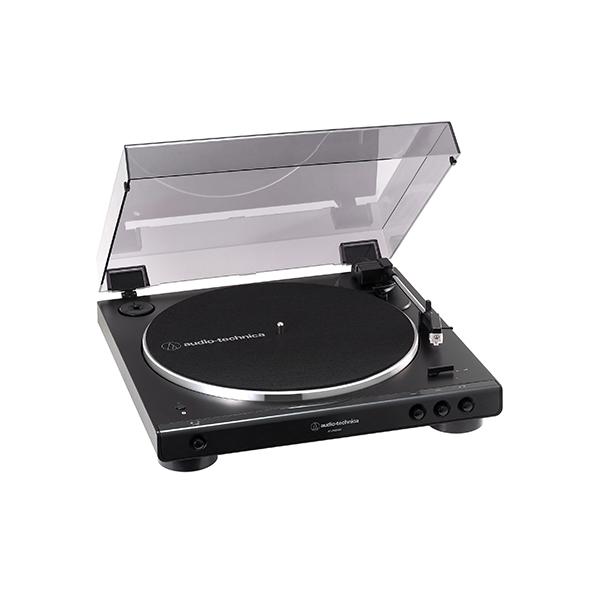 レコードプレーヤー 【お取り寄せ】audio-technica オーディオテクニカ AT-LP60XBT GBK ステレオターンテーブルシステム【送料無料】 【1年保証】