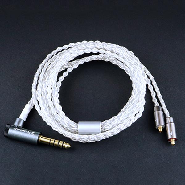 日本ディックス MMCX-4.4mm5極L型ケーブル 【NBB1-14-002-12】【送料無料】 【1年保証】