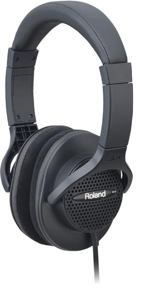 Roland(ローランド) RH-A7-BK(ブラック) デジタルピアノなど電子楽器演奏に最適なオープンエア型モニターヘッドホン ヘッドフォン