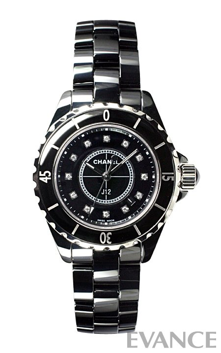 シャネル J12 H1625 ブラック レディース CHANEL 【新品】【腕時計】