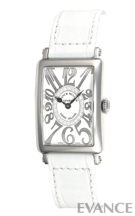 フランクミュラー ロングアイランド 902QZCD1R シルバー(サークルダイヤ) FRANCK MULLER 【新品】【腕時計】