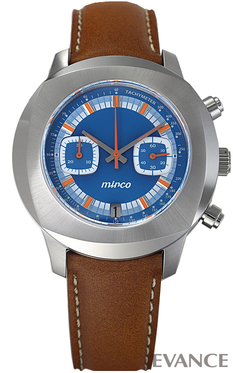 ミルコ TYPE-02 MM T202.01.01MM ブルー メンズ mirco 【新品】【腕時計】 エバンス