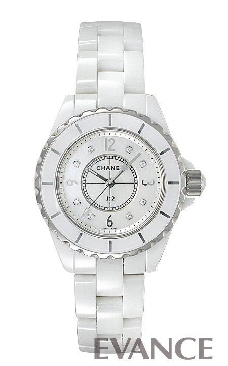 シャネル J12 H2422 ホワイト マザーオブパール レディース CHANEL 【新品】【腕時計】