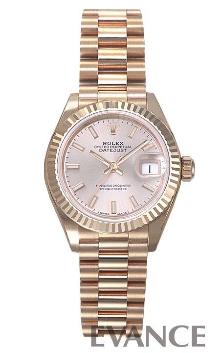 ロレックス デイトジャスト28 279175 ピンク レディース ROLEX 【新品】【腕時計】