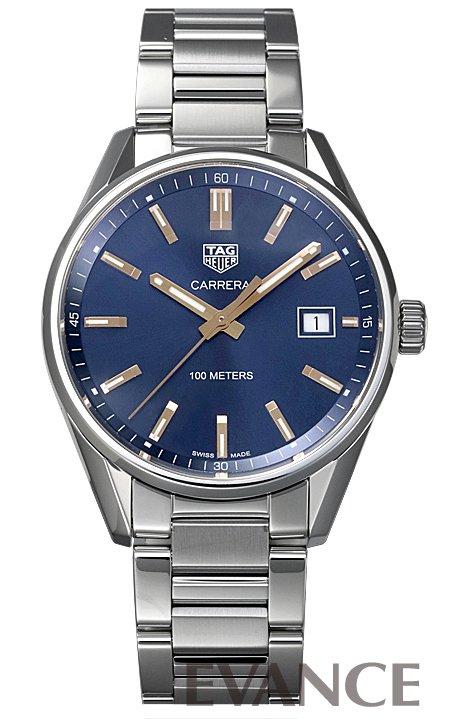 タグ・ホイヤー カレラ WAR1112.BA0601 ブルー メンズ TAG HEUER 【新品】【腕時計】