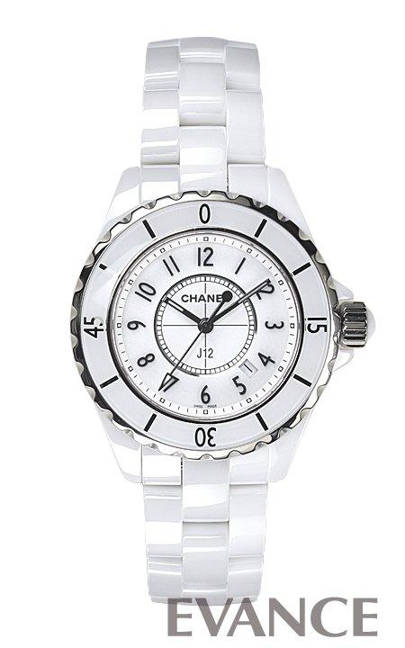 シャネル J12 H0968 ホワイト レディース CHANEL 【新品】【腕時計】
