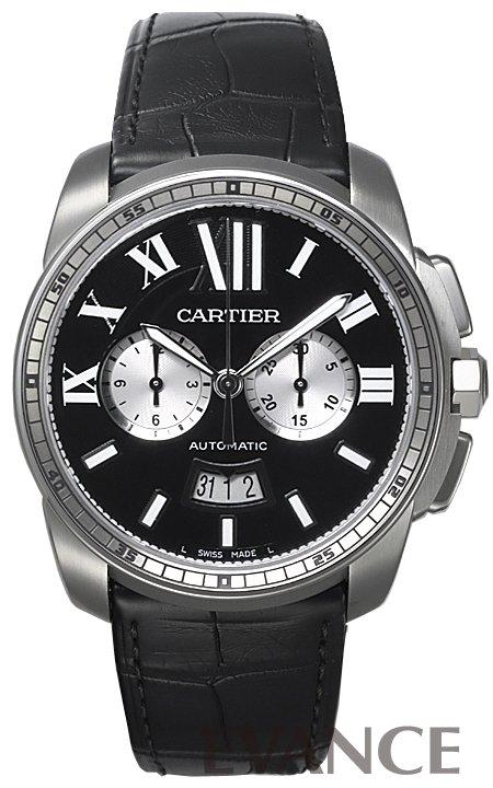 カルティエ カリブル ドゥ カルティエ クロノグラフ W7100060 CARTIER 【新品】【腕時計】