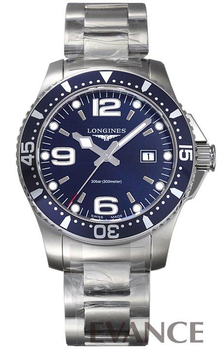 ロンジン ハイドロコンクエスト L3.730.4.96.6 ブルー メンズ LONGINES 【新品】【腕時計】