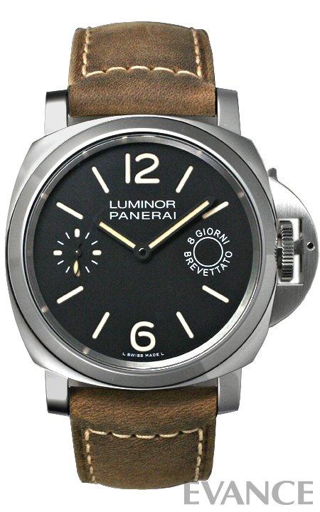 パネライ ルミノールマリーナ 8デイズ アッチャイオ PAM00590 PANERAI 【新品】【腕時計】