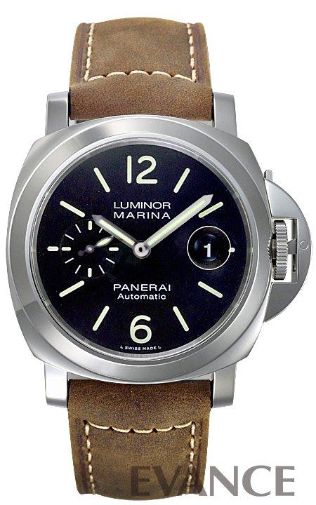 パネライ ルミノール マリーナ PAM01104 ブラック メンズ PANERAI 【新品】【腕時計】 エバンス