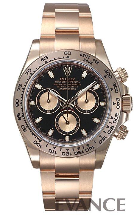 ロレックス デイトナ 116505 ブラック メンズ ROLEX 【新品】【腕時計】