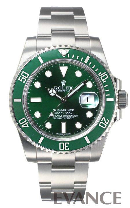 ロレックス サブマリーナデイト 116610LV グリーン メンズ ROLEX 【新品】【腕時計】