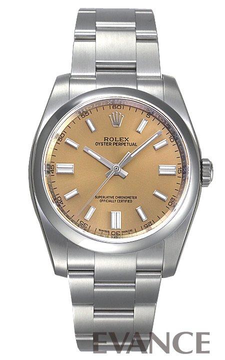 ロレックス パーペチュアル 116000 ホワイトグレープ バーインデックス ROLEX 【新品】【腕時計】