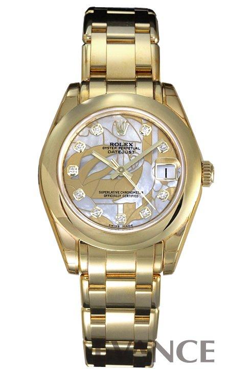 ロレックス デイトジャスト 81208G ゴールドダストドリーム レディース ROLEX 【新品】【腕時計】