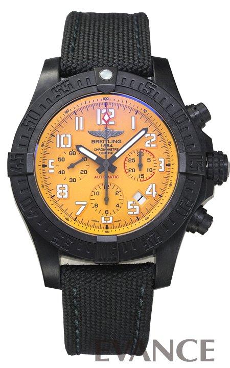 ブライトリング アベンジャー ハリケーン 12H X112I34MMA イエロー メンズ BREITLING 【新品】【腕時計】