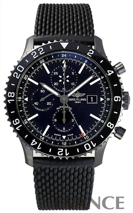 ブライトリング クロノライナー M241B02QRB ブラック メンズ BREITLING 【新品】【腕時計】