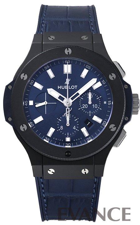 ウブロ ビッグバン セラミック ブルー 301.CI.7170.LR ブルー メンズ HUBLOT 【新品】【腕時計】