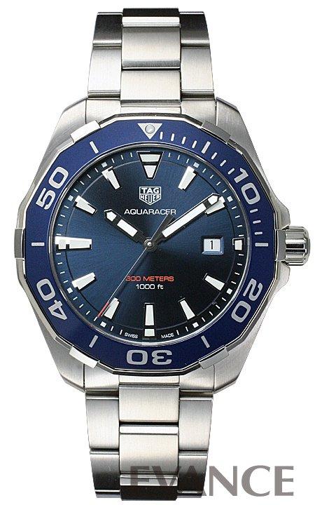 タグ・ホイヤー アクアレーサー WAY101C.BA0746 ブルー メンズ TAG HEUER【新品】【腕時計】