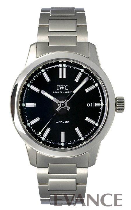 IWC インヂュニア オートマティック IW357002 ブラック メンズ 【新品】【腕時計】