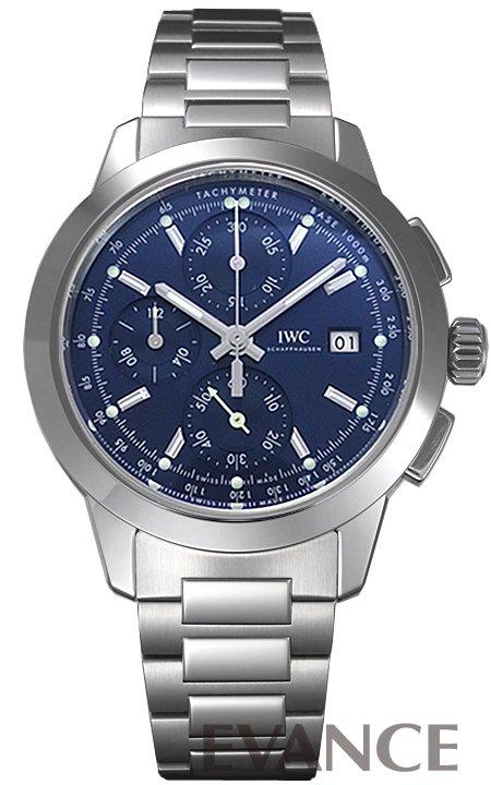 IWC インヂュニア クロノグラフ IW380802 ブルー メンズ 【新品】【腕時計】