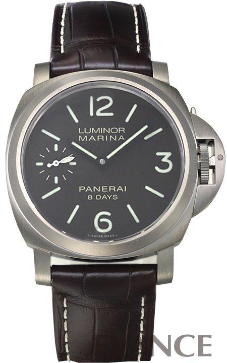 パネライ ルミノール マリーナ 8デイズ チタニオ PAM00564 ブラウン メンズ PANERAI 【新品】【腕時計】