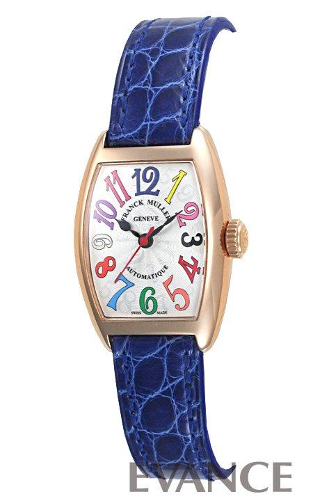 フランク・ミュラー トノーカーベックス カラードリーム  1750SCATFOCOLDRM シルバー レディース FRANCK MULLER 【新品】【腕時計】