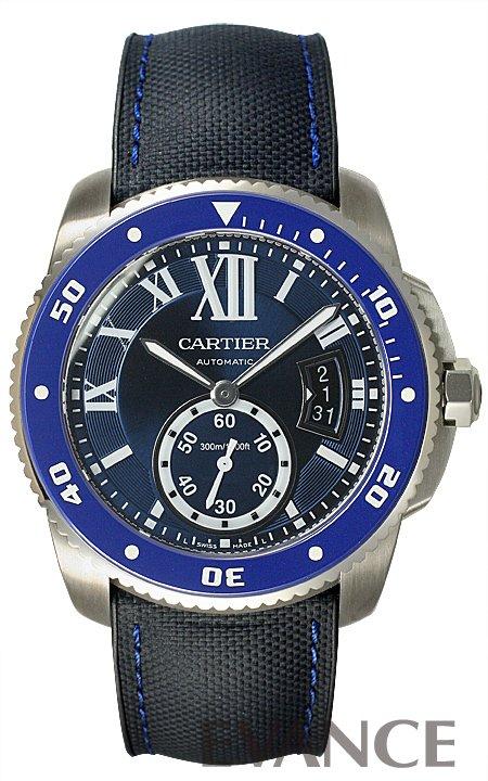カルティエ カリブル ドゥ カルティエ ダイバー WSCA0010 ブルー メンズ CARTIER 【新品】【腕時計】