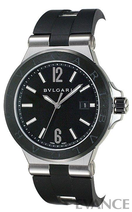 ブルガリ ディアゴノ セラミック DG42BSCVD ブラック メンズ BVLGARI 【新品】【腕時計】