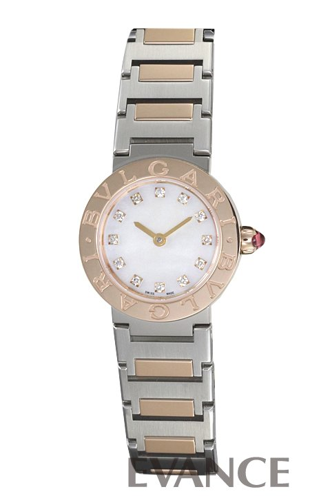 ブルガリ ブルガリブルガリ BBL23WSPG/12 ホワイト マザーオブパール レディース BVLGARI 【新品】【腕時計】
