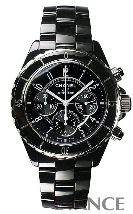 シャネル J12 クロノグラフ H0940 ブラック メンズ CHANEL 【新品】【腕時計】