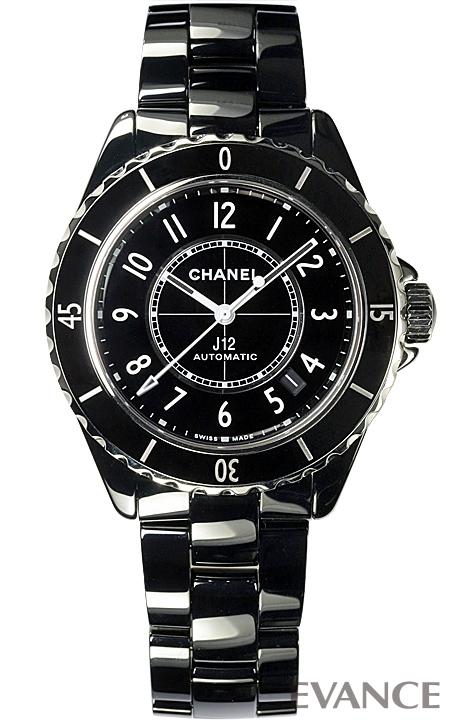 シャネル J12 H5697 ブラック メンズ CHANEL 【新品】【腕時計】