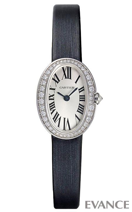 カルティエ ミニ ベニュワール WB520027 シルバー レディース CARTIER 【未使用品】【腕時計】