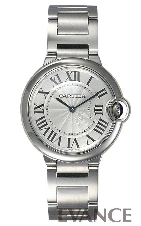 カルティエ バロンブルー MM W69011Z4 シルバー ボーイズ CARTIER 【新品】【腕時計】