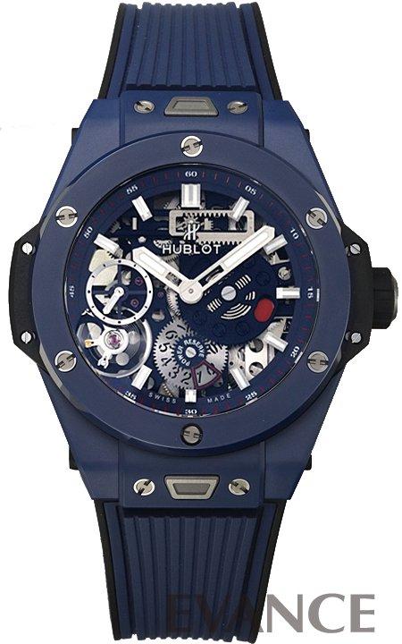 ウブロ ビッグバン メカ‐10 ブルーセラミック 414.EX.5123.RX ブルー メンズ HUBLOT 【新品】【腕時計】 時計 エバンス 父の日 プレゼント ギフト