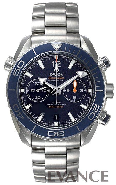 オメガ シーマスター プラネットオーシャン 600M クロノ 215.30.46.51.03.001 ブルー メンズ OMEGA 【新品】【腕時計】