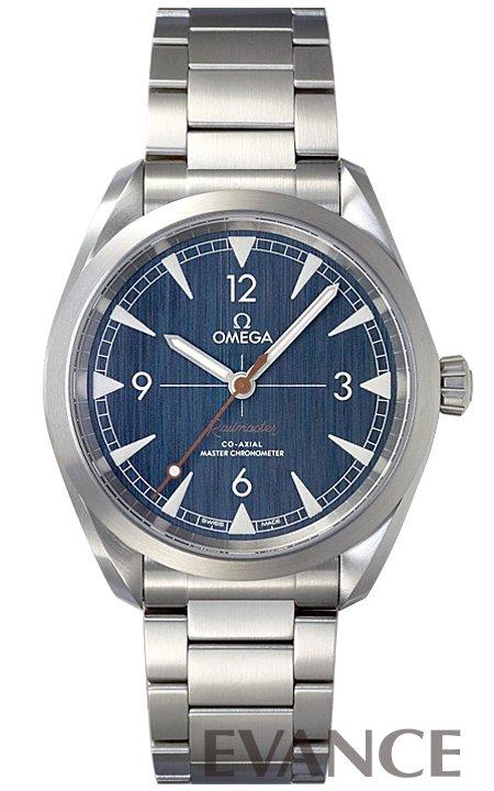 オメガ シーマスター レイルマスター 220.10.40.20.03.001 ブルー メンズ OMEGA 【新品】【腕時計】