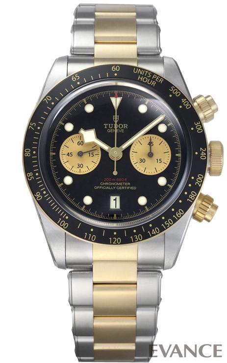 チューダー(チュードル) ブラックベイ クロノ S&G 79363N ブラック メンズ TUDOR 【新品】【腕時計】 時計 エバンス 父の日 プレゼント ギフト