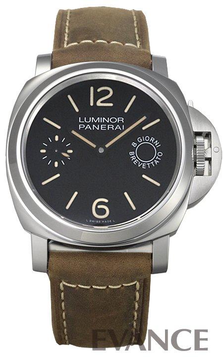 パネライ ルミノールマリーナ 8デイズ PAM00590 ブラック メンズ PANERAI 【新品】【腕時計】