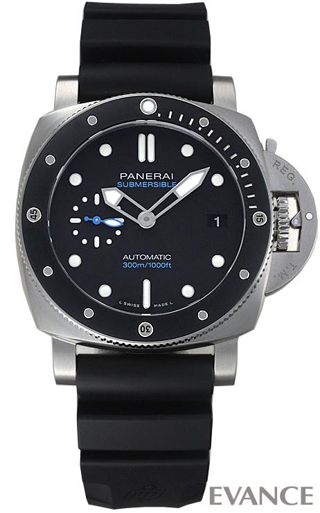 パネライ サブマーシブル PAM00683 ブラック メンズ PANERAI 【新品】【腕時計】