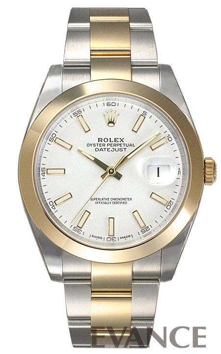 ロレックス デイトジャスト 41 126303 ホワイト バー ROLEX 【新品】【腕時計】