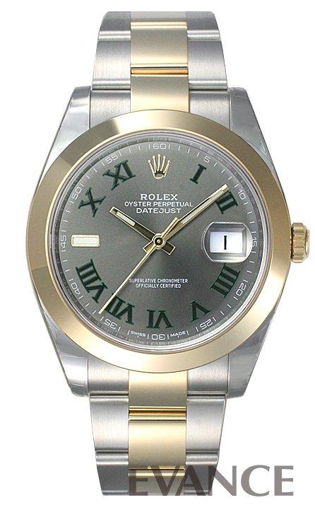 ロレックス デイトジャスト 41 126303 グレー ROLEX 【新品】【腕時計】