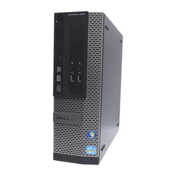 中古 パソコン ★ DELL OptiPlex 3010SF 省スペース デスクトップ WPS Office付き Windows10 Home 【Core i3-3220/4GB/250GB/DVD】