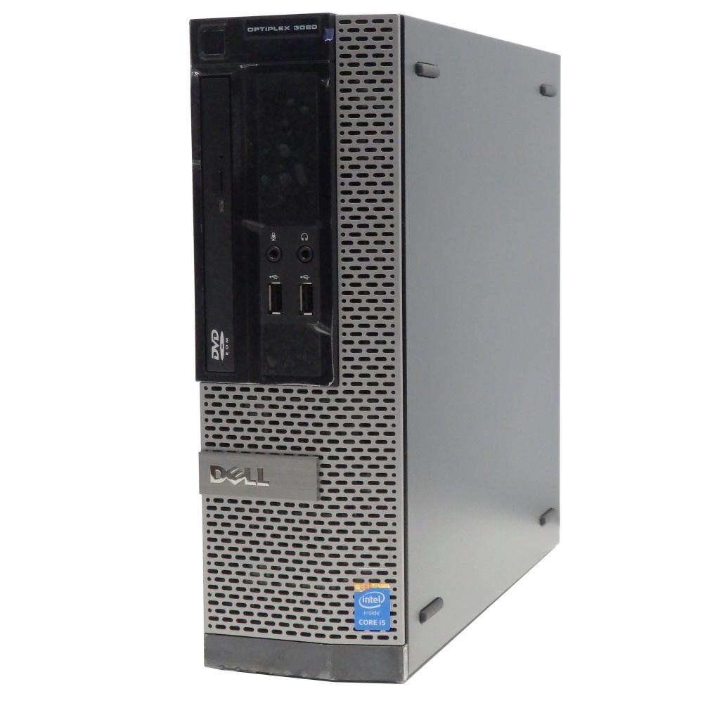 中古 パソコン ★ DELL OptiPlex 3020SF 省スペース デスクトップ 高性能 4コア WPS Office付き Windows10 Home 【Core i5-4590/4GB/500GB/MULTI】