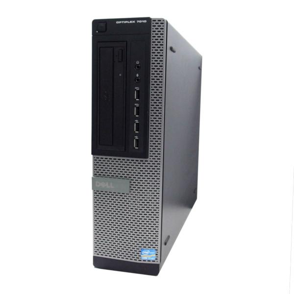 中古 パソコン ★ DELL OptiPlex 7010DT デスクトップ 高性能 4コア WPS Office付き Windows10 Home 【Core i7-3770/4GB/500GB/DVD】