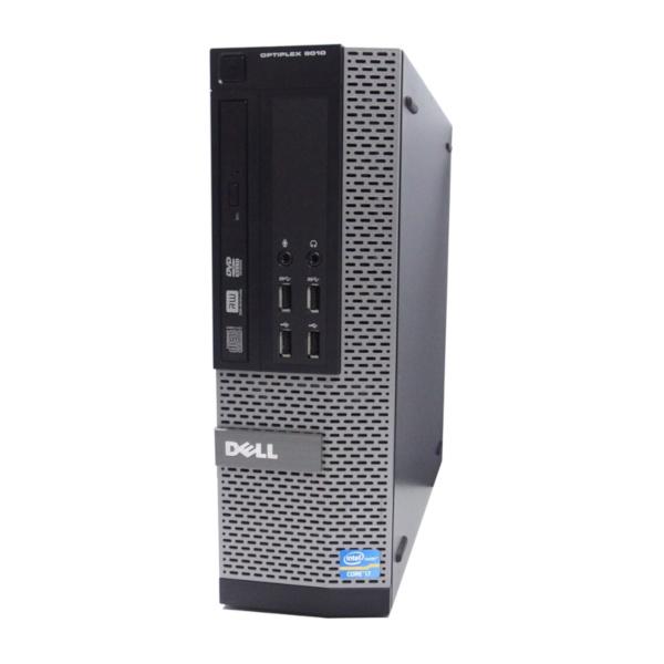 中古 パソコン ★ DELL OptiPlex 9010SF 省スペース デスクトップ 高性能 4コア USB3.0 WPS Office付き Windows10 Home 【Core i7-3770/8GB/120GB SSD 2TB HDD/MULTI】