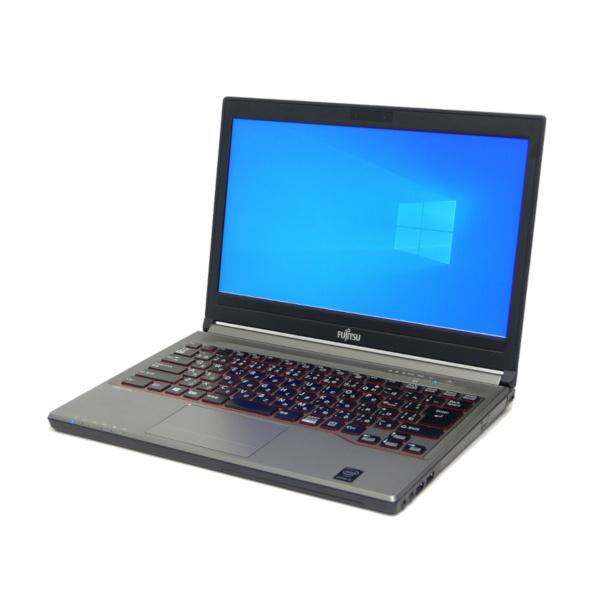 特価 中古 パソコン ★ 富士通 LIFEBOOK E734/K B5 ノートパソコン 13.3インチ 無線LAN WPS Office付き Windows10 Home 【Core i5-4310M/16GB/256GB SSD/MULTI】