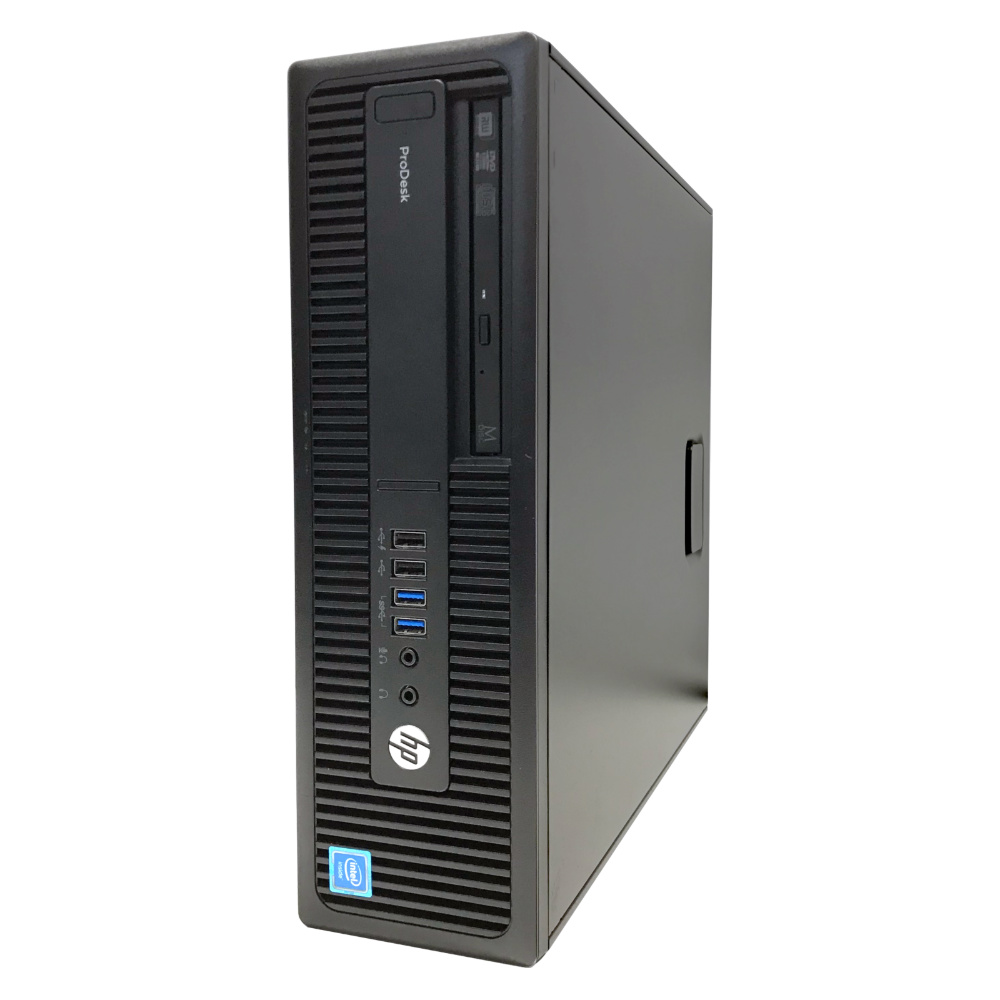 中古 パソコン ★ hp ProDesk 600G2 SF 省スペース デスクトップ WPS Office付き Windows10 Pro 【Celeron G3900/4GB/500GB/MULTI】