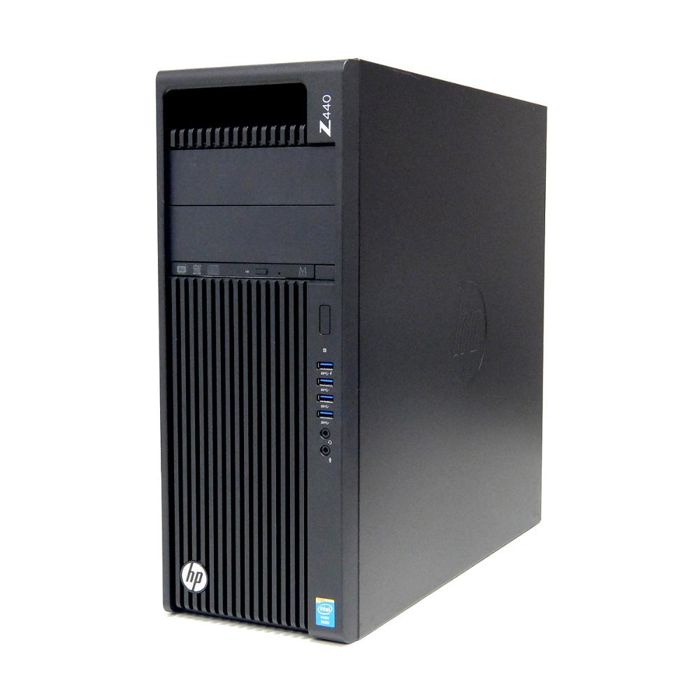 特価 中古 パソコン ★ hp Z440 Workstation タワー デスクトップ CAD Quadro K4200 4コア8スレッド PCIe M.2 WPS Office付き Windows10 Pro 【Xeon E5-1620v3/16GB/256GB SSD 1TB HDD/MULTI】 ●愛知発送