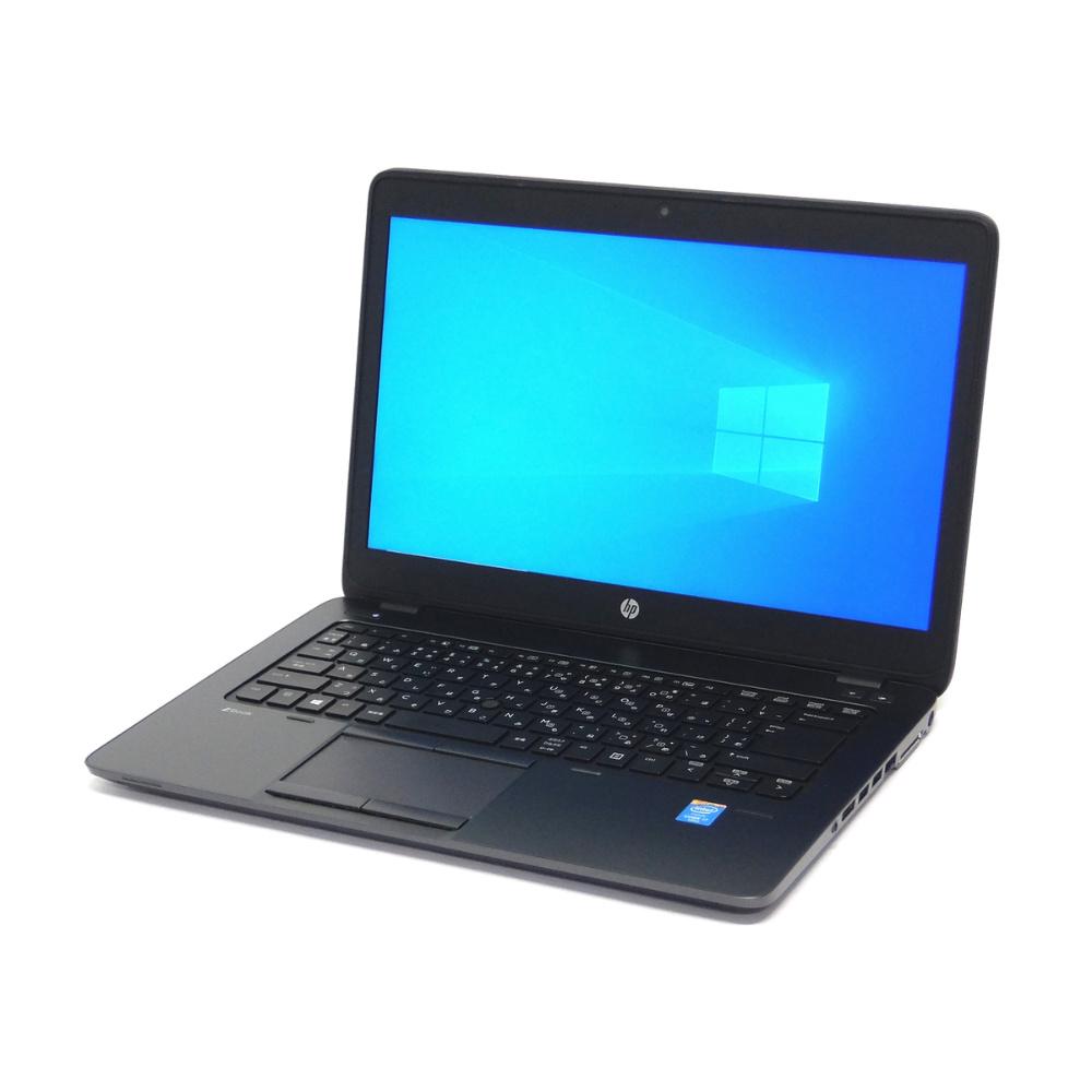 中古 パソコン ★ hp ZBook 14 G2 訳あり バッテリー無し 外観難あり B5 ノートパソコン 14インチ フルHD カメラ NVMe 指紋 無線LAN WPS Office付き Windows10 Pro 【Core i7-5600U/16GB/256GB SSD 500GB HDD】