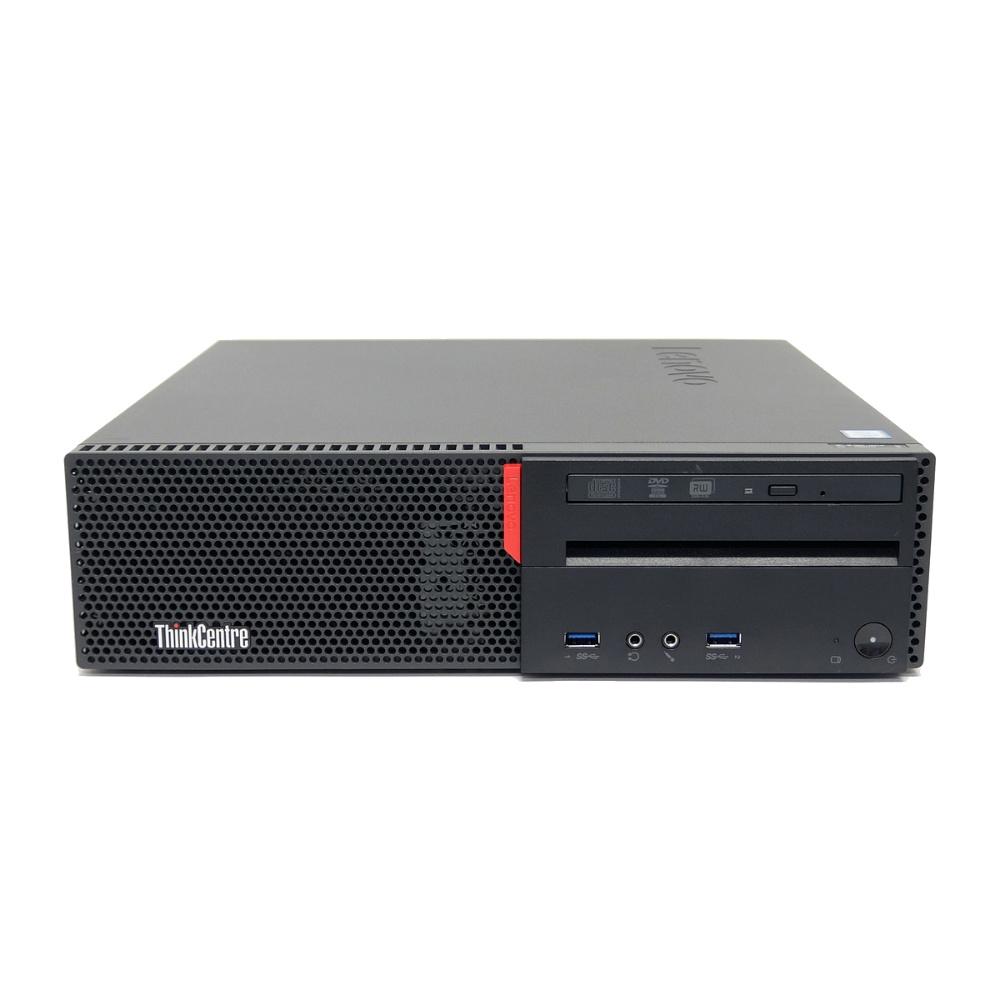中古 パソコン ★ Lenovo ThinkCentre M700 Small 省スペース デスクトップ 高性能 4コア WPS Office付き Windows10 Home 【Core i5-6500/4GB/500GB/MULTI】